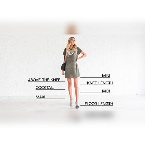 Women's Skirt Hem Lengths