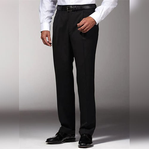 Example of a good length for men's trousers